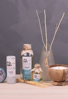 We Love The Planet Deodorant, Kokosnootkaarsen, Diffuser Geurstokjes & Hand Cream
