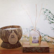 Natuurlijke geur- stokjes & kaarsen